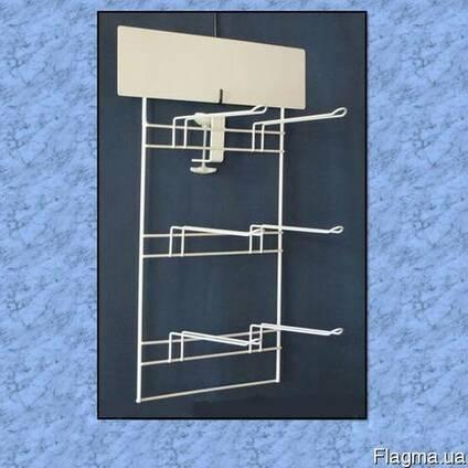 Проволочные стеллажи и различные конструкции.