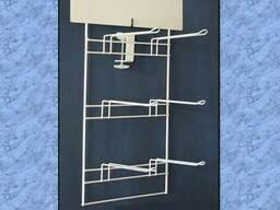 Проволочные стеллажи и различные конструкции. - фото 1