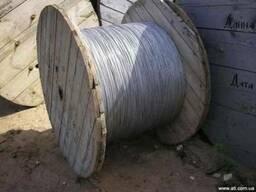 Проволока сталеалюминиевая БСА-1 диам 4, 3мм и 5, 1мм.