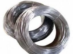 Проволока вязальная оцинкованная ф 5.0 мм (стальная)