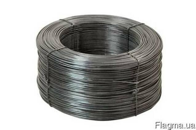 Проволока стальная низкоугл. общего назначения т/о d 6,0 мм