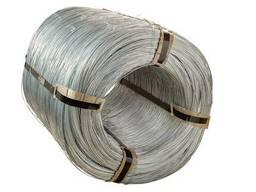 Проволока стальная низкоуглеродистая термически необработанная с цинковым покрытием