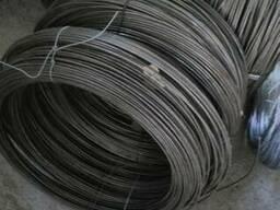 Проволока стальная светлая без покрытия. 3мм, 4мм, 5мм, 6мм