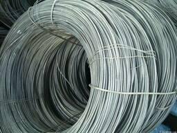 Проволока пружинная сталь 60С2А, сталь65Г, сталь70