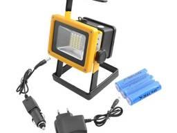 Прожектор аккумуляторный светодиодный 30 вт