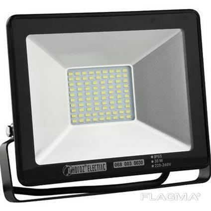 Прожектор Horoz LED 30W черный 6400К  )