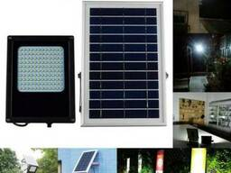 Прожектор светильник на солнечной батарее 120 LED светодиодо