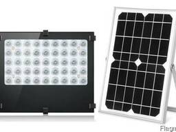 Прожектор светильник на солнечной батарее 30W 45LED 10400mAh