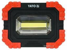 Прожектор світлодіодний YATO 10 Вт 680 лм 3 режими 160 х 120 х 45 мм