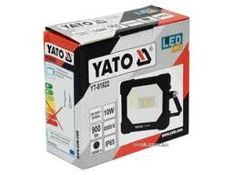 Прожектор з SMD-діодним випромінювачем YATO 10 Вт 900 лм 14 діодів