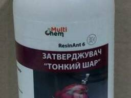 Прозрачный отвердитель для эпоксидной смолы ResinAnt 6 (ДЭТА), 250гр.