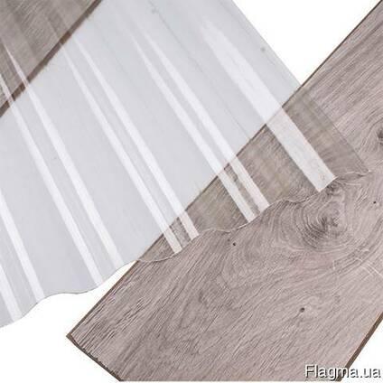 Прозрачный шифер из стеклопластика армированный (ПВХ)