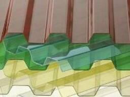 Прозрачный шифер ПВХ - фото 1