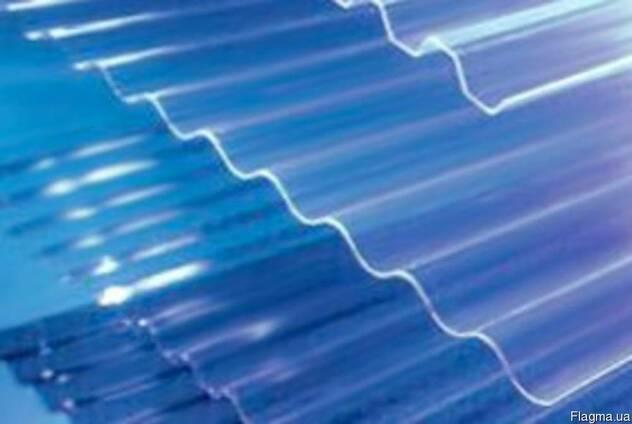 Прозрачный шифер Salux волна 0,9х1,8 м