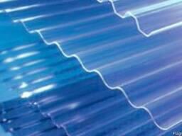 Прозрачный шифер Salux волна 0, 9х1, 8 м