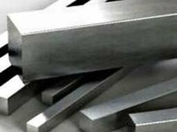 Пруток квадратного сечения (квадрат) из нержавеющей стали