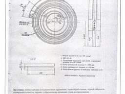Пружина противовеса 2М55 и 2А554 спиральная ленточная
