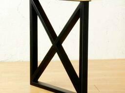 """Прямоугольный деревянный стол """"X-quad"""" из массива ясеня Живой Край"""
