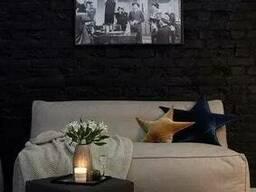 Прямой диван бескаркасный от производителя