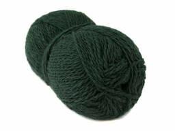 Пряжа Borgo de Pazzi Amore Cotton 73 Темно-зеленая (2444642)