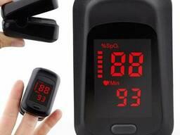 Пульсоксиметр на палец медицинский оксиметр - прибор для измерения сатурации кислорода. ..