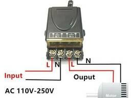 Пульт дистанционного управления 220V 30А на 1 реле, 1 пульт