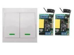 Пульт дистанционного управления 220V на 2 реле и 2 выключате
