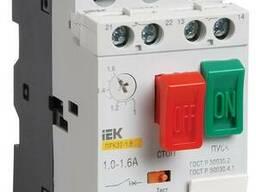 Автомат защиты двигателя ПРК32- 1, 6 In=1, 6A Ir=1-1, 6A Ue. ..