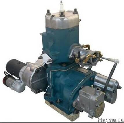 Пусковой двигатель ПД-10 в сборе новый
