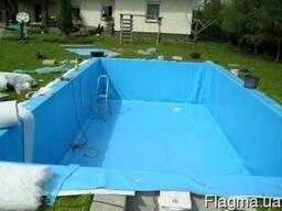 ПВХ для бассейнов, аттракционов, спорт материалы