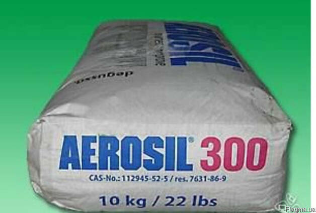 Pyrogenic silica of the grades: 90; 120; 150; 175; 200; 300;