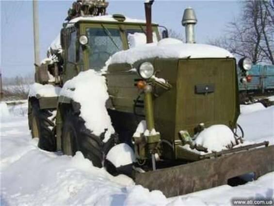 ПЗМ 2, траншейная землеройная машина на базе трактора Т 150К