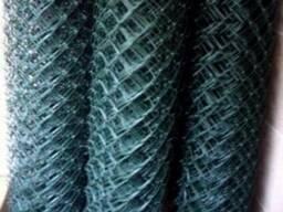 Рабица черная 35 мм, 1*10м, 2мм