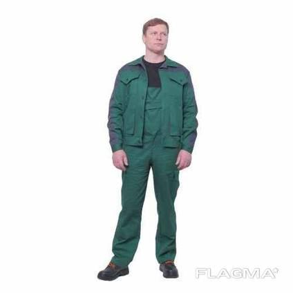 Рабочая одежда, куртка и полукомбинезон
