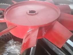 Рабочее колесо (крыльчатка) вентилятора ЗАВ10, ЗАВ20
