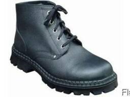 Рабочие ботинки демисезонные, клее-прошивные, ПУ, арт.МА-002