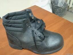 Рабочие ботинки на гвоздевой подошве, демисезонные