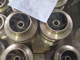Рабочие колеса 9д100. 11. 012-2, 2д100. 11. 00-3, д50. 11. 002-5