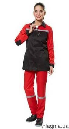 Рабочие костюмы для женщин пошив под заказ