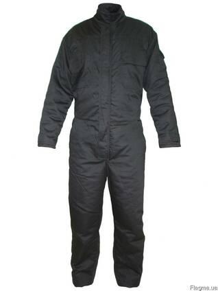 Рабочие утеплённые комбинезоны, зимняя спецодежда, одежда