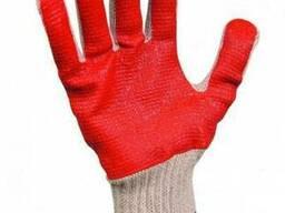 Рабочие вязаные хлопчатобумажные перчатки