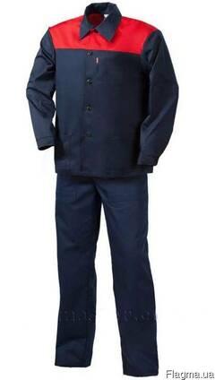 Рабочий костюм демисезонный куртка брюки женский и мужской