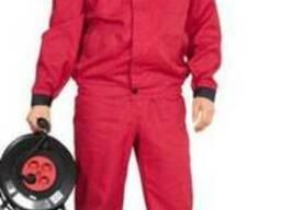 Рабочий костюм для работников СТО, заправок, автослесарей