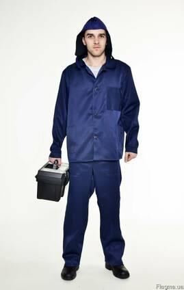 Рабочий мужской костюм из ткани грета