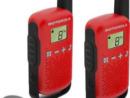 Рации Motorola Talkabout T42 RED TWIN PACK. ..