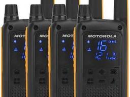 Рации Motorola Talkabout T82 Extreme QUAD PACK WE. ..