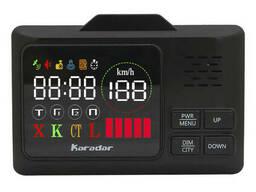 Радар-детектор Karadar G-860STR Черный (3143-8539)