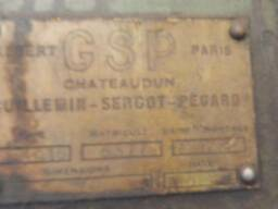 Радиально-сверлильный станок производства GSP модель554 Q16