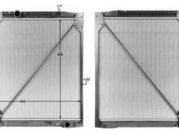 Радіатор без рами [thermotec] Mercedes Actros