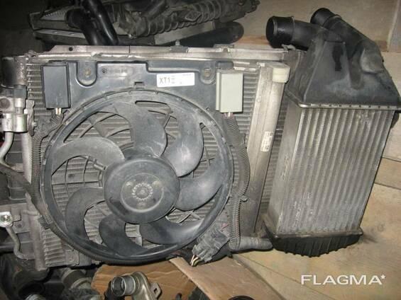 Радиатор интеркулера 1,3cdti Opel Astra H 13213402 6302076